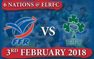 Watch FRANCE vs IRELAND