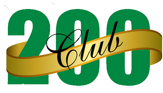 200 Club February Winners