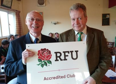 Eagles Awarded RFU Accreditation Club Status
