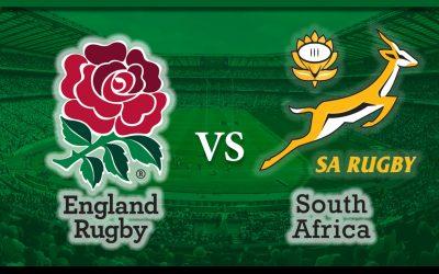 England v South Africa – 2018