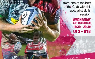 Harlequins Masterclass Coaching Session
