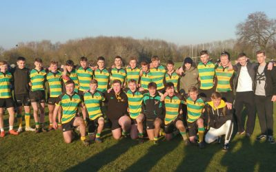 Colts in the Final of the Waterfall Cup