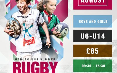 2019 Quins Summer Rugby Camp
