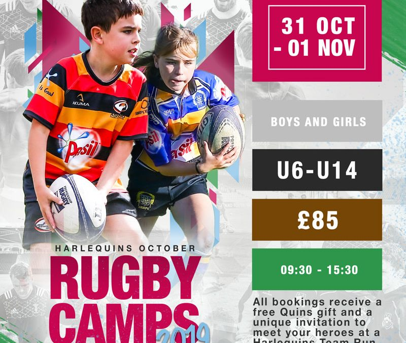 2019 Quins October Rugby Camp