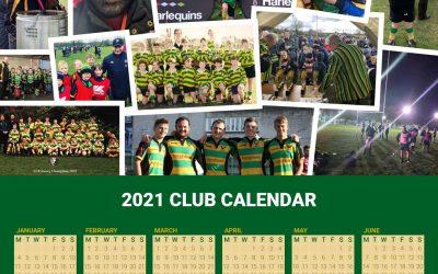 ELRFC A3 Wall Calendar