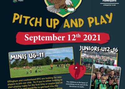ELRFC Community Day – 12th September 2021
