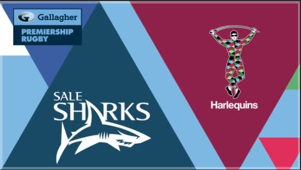 Sale Sharks Vs Quins – Friday 15th October 2021